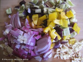 Coloured food1